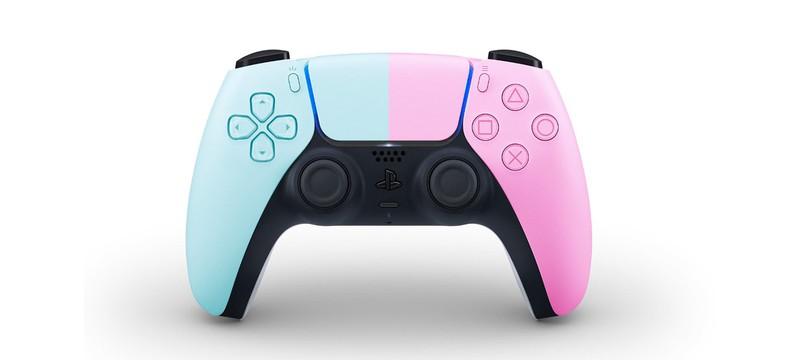 Альтернативные цвета контроллера DualSense для PS5