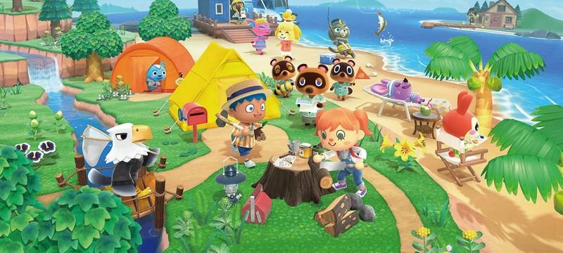 Animal Crossing: New Horizons стала бестселлером в Японии всего за 10 дней