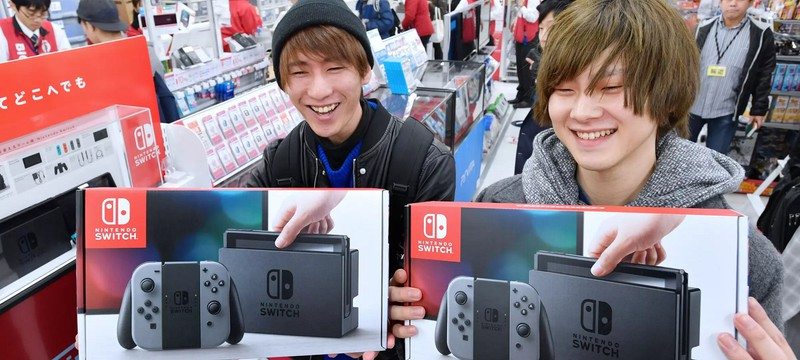 200 тысяч японцев участвовали в лотерее на право купить 130 Nintendo Switch