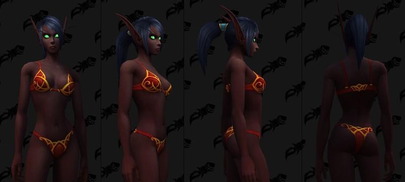 Игроки World of Warcraft удивлены новыми скинами эльфов крови