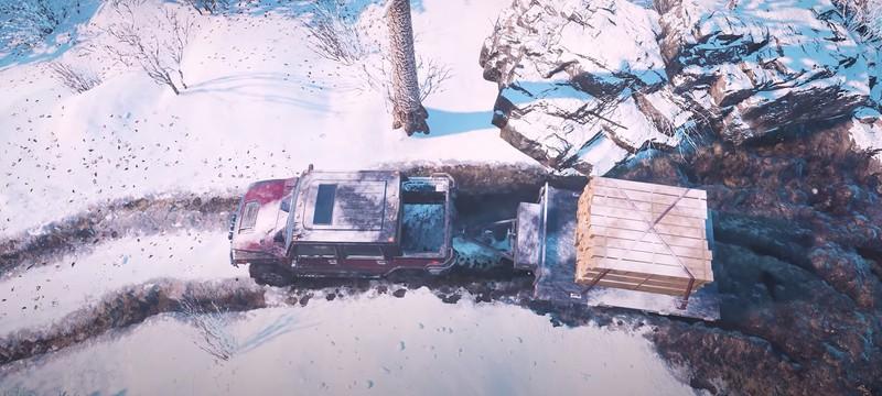 Разработчики SnowRunner спародировали Death Stranding в новом трейлере