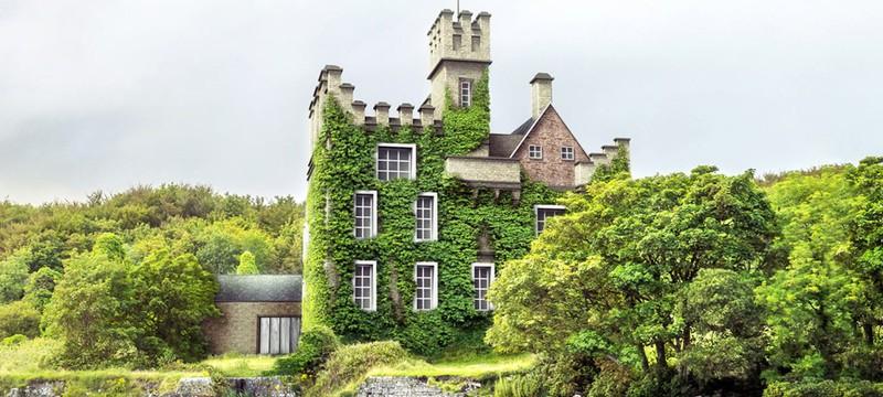 Дизайнеры восстановили с помощью графики семь разрушенных замков Европы