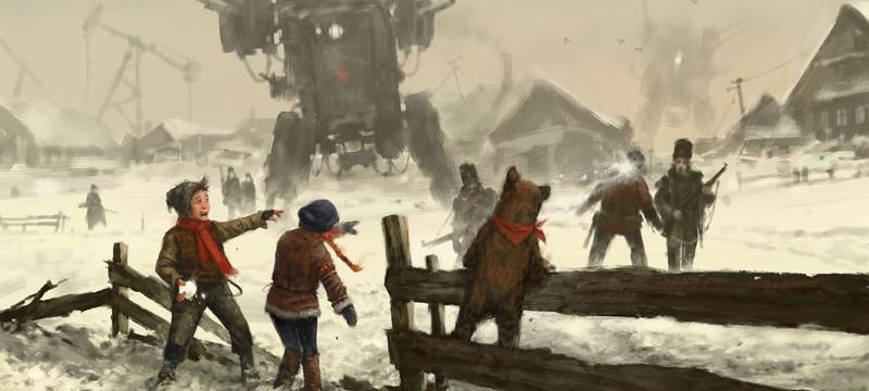 Снежки, охота и прощание с братом в новом геймплее Iron Harvest