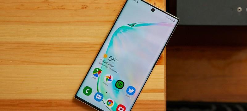 В сеть утекло предполагаемое изображение Galaxy Note 20