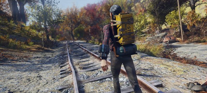 NPC в Fallout 76 воруют оружие у мертвых игроков