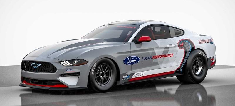 Ford представила электрический Mustang с 1400 лошадиных сил