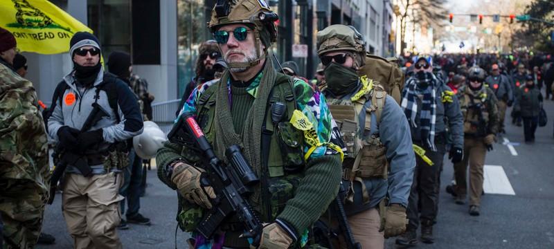 Более 100 милитаристских групп на Facebook призывают ко второй гражданской войне в США