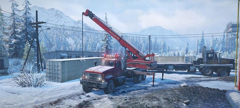 Игроки SnowRunner убеждены, что в виртуальном лесу живут волки