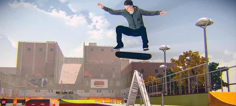 Профессиональный скейтер тизерит новую Tony Hawk