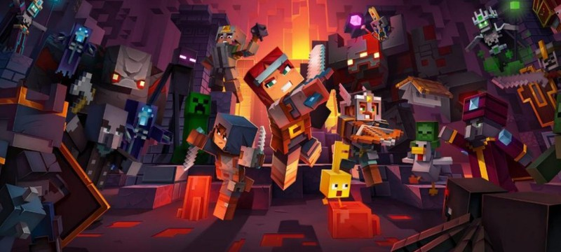На начальных этапах разработки Minecraft: Dungeons была похожа на The Legend of Zelda