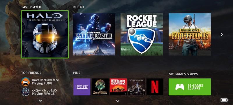 Xbox Series X получит обновленный интерфейс