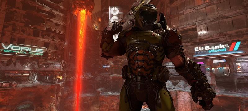 Внедрение Denuvo и вторжение демонов — детали первого крупного обновления DOOM Eternal