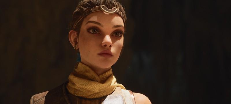 Сцена прохода в узкой пещере в демонстрации Unreal Engine 5 была не для подзагрузки уровня