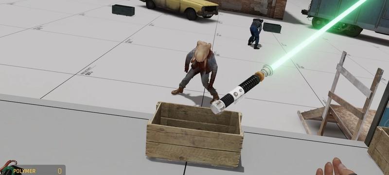 Световой меч и побег из гаража — первые моды Half-Life: Alyx из мастерской Steam