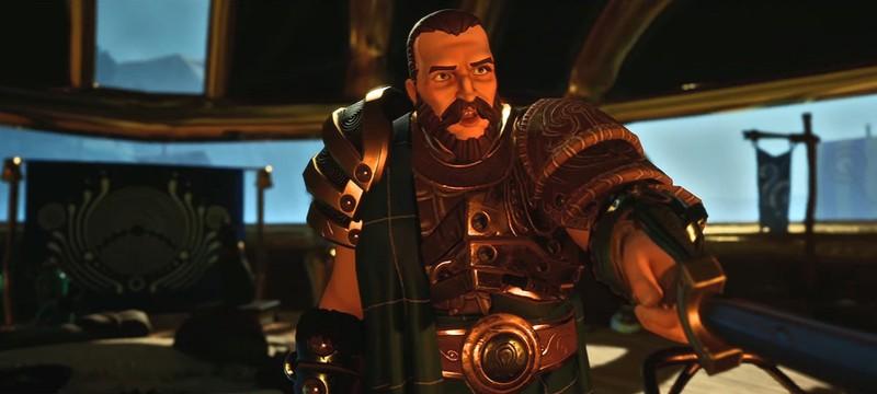 Завязка сюжета и создание персонажей в новых трейлерах RPG The Waylanders