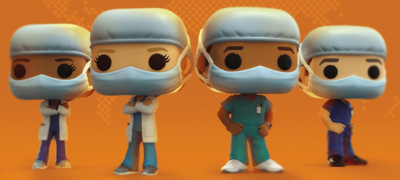 Линейку Funko Pop! Heroes пополнят фигурки врачей