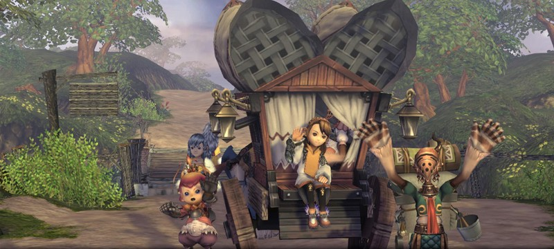 Ремастер Final Fantasy Crystal Chronicles выйдет 29 августа