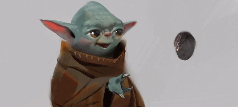 Disney показала ранние концепт-арты малыша Йоды