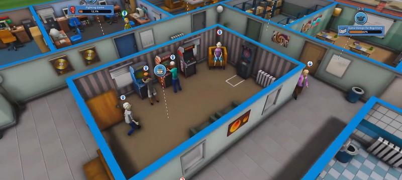 Строительство офиса, выбор жанра игр и развитие сотрудников в первом трейлере Mad Games Tycoon 2