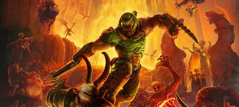 Для Doom Eternal вышел мод, добавляющий рокетджампы