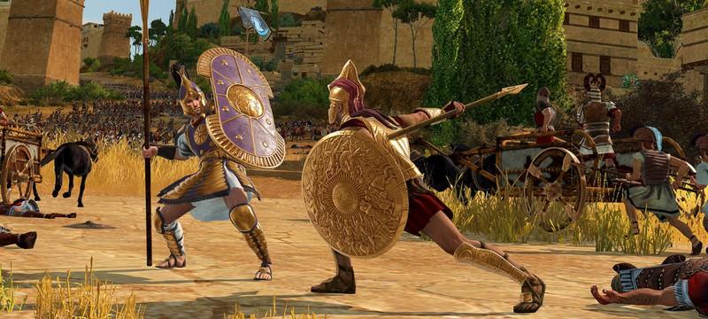 Одна из главных битв бронзового века в новом геймплее Total War Saga: Troy