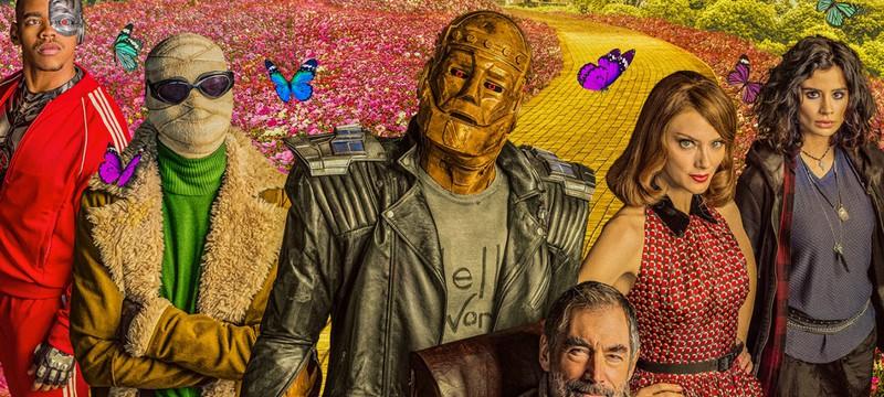 Дебютный трейлер второго сезона Doom Patrol