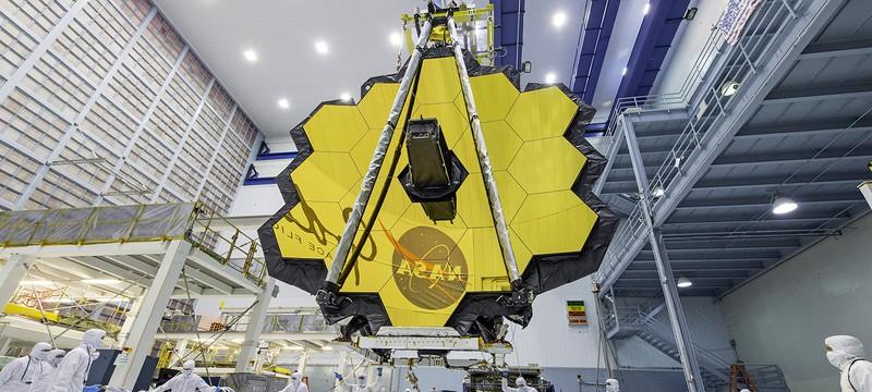 Запуск телескопа имени Джеймса Уэбба вновь задерживается