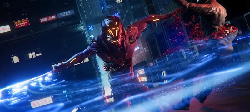 Новый геймплей Ghostrunner: цифровой мир, сложные враги и мощные способности