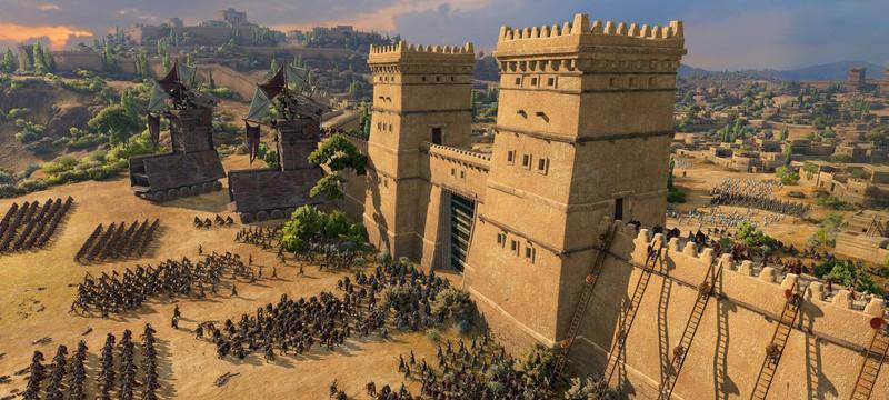 Осада Трои в новом геймплее Total War Saga: Troy