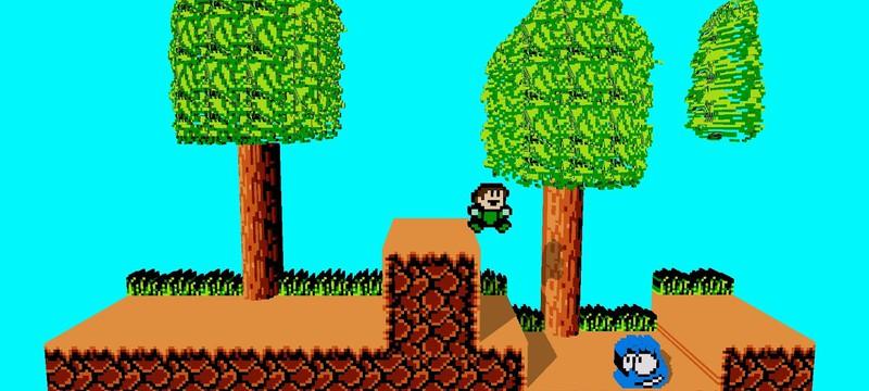 В Раннем доступе Steam появился мод, который позволит запускать классические игры NES в 3D