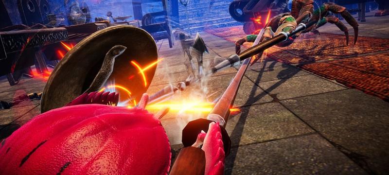 Новый трейлер игры про крабьи бои с боевой системой на физике