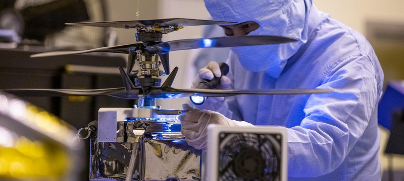 NASA отправит на Марс дрон для полетов над планетой