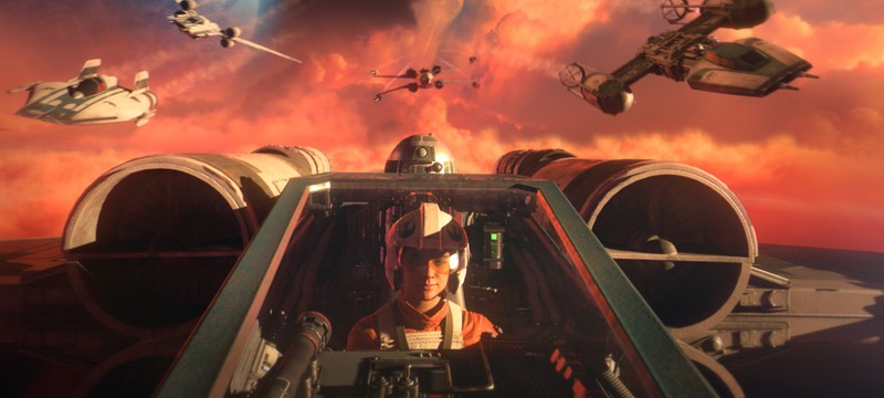 Star Wars: Squadrons в России на PS4 стоит дешевле, чем на PC
