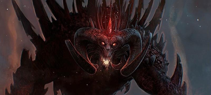 Blizzard показала бюст Диабло в честь 20-летия второй части серии