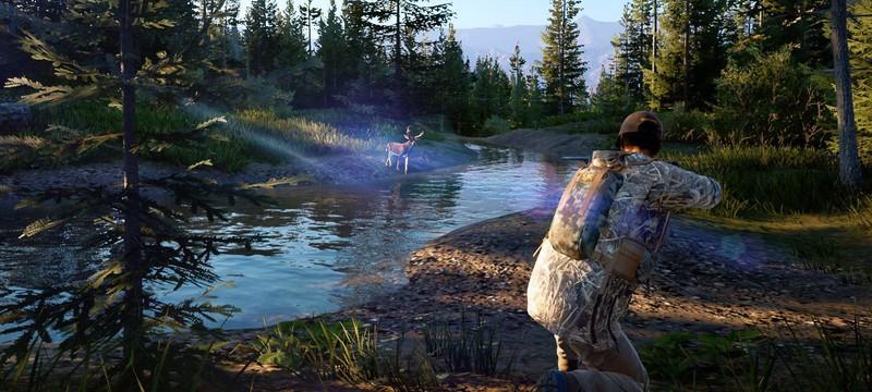 Релизный трейлер симулятора охотника Hunting Simulator 2