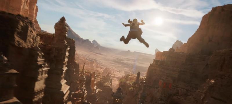 Рендеринг геометрии в демо Unreal Engine 5 нагружал GPU не сильнее, чем Fortnite