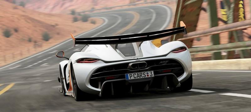 Несколько новых скриншотов Project CARS 3