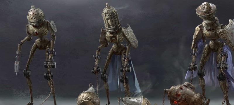 Замок Большой Шатле и причудливые автоматоны на концепт-артах ролевого экшена Steelrising
