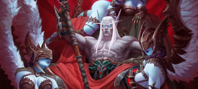 В World of Warcraft: Shadowlands можно будет бесплатно сменить пол