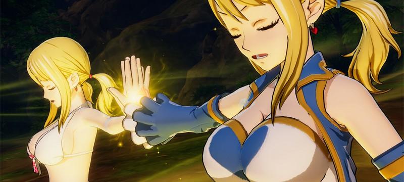Персонажи и сражения в новом трейлере JRPG Fairy Tail