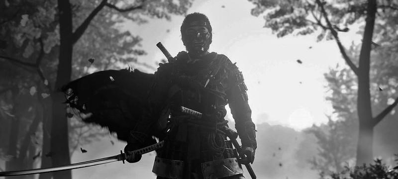Режим Куросавы и геймплей в японском трейлере Ghost of Tsushima