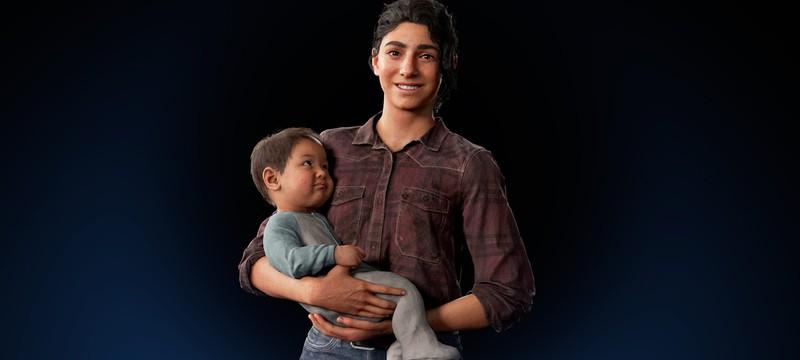 Анимацию ребенка в The Last of Us Part II захватывали со взрослых актёров