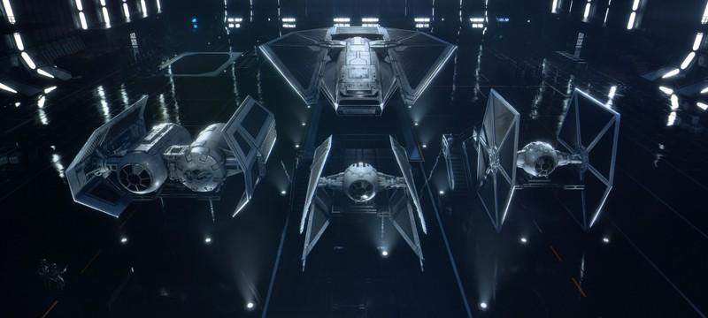 Масса нового геймплея Star Wars: Squadrons