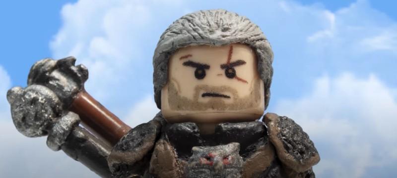 """Фанат снял короткометражку по """"Ведьмаку"""" с помощью LEGO"""