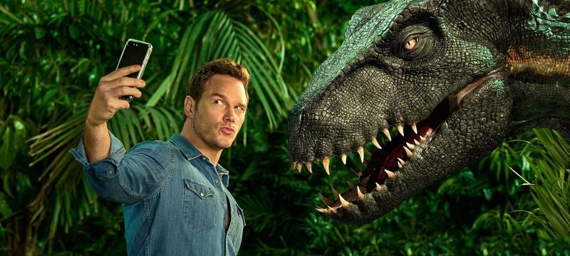 """На съемках """"Мир Юрского периода 3"""" используется рекордное количество аниматронных динозавров"""