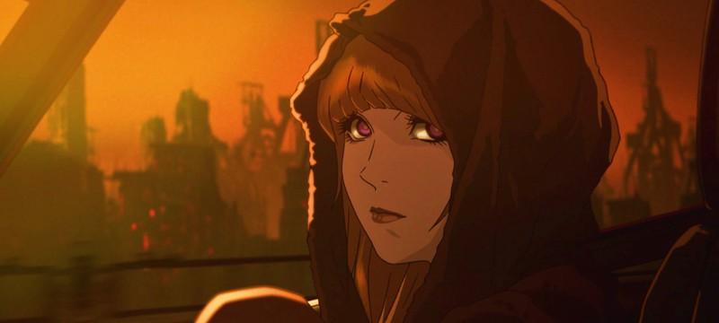 """Первые кадры аниме по """"Бегущему по лезвию 2049"""""""