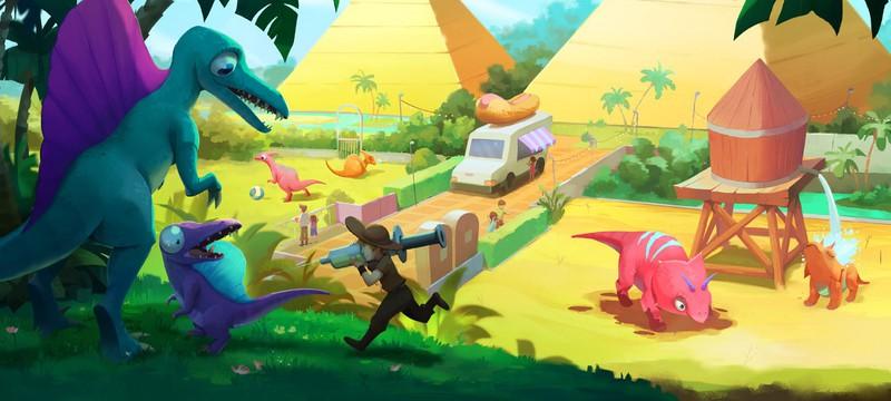 Милая стратегия про динозавров Parkasaurus выйдет из раннего доступа 13 августа