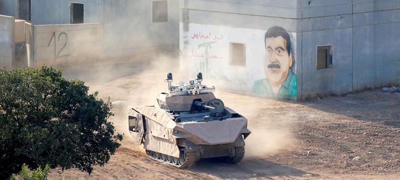Новым израильским танком будут управлять с помощью геймпадов