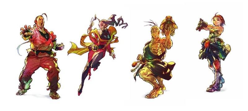 Capcom представила четырех новых героев Street Fighter V и детали пятого сезона