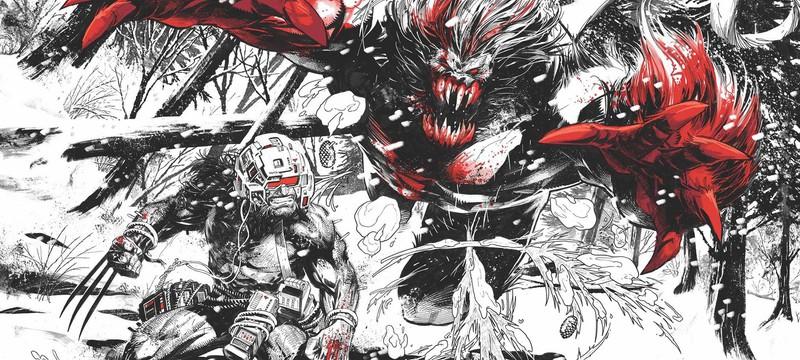 Marvel анонсировала трехцветный комикс — Wolverine: Black, White & Blood